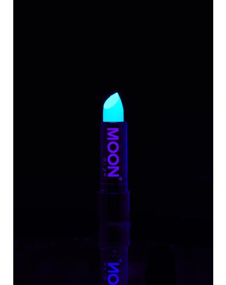 Neon Pastel Blue UV Lipstick