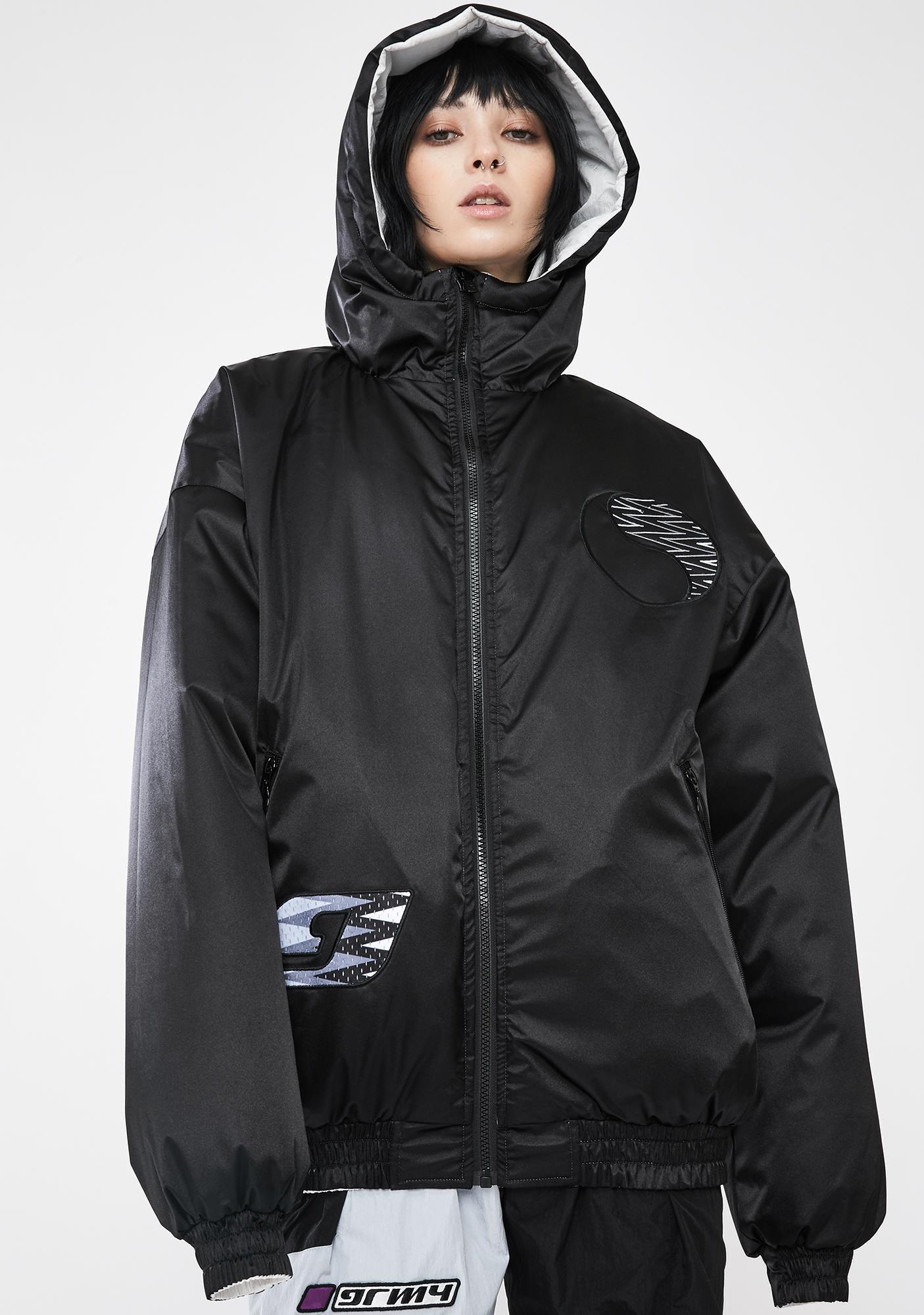 GRIMEY Acknowledge Reversible Hoodie Jacket