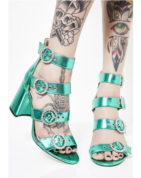Century Strappy Heels