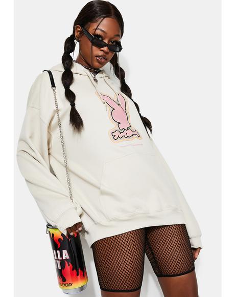 Playboy Tokyo Rabbit Head Graphic Hoodie