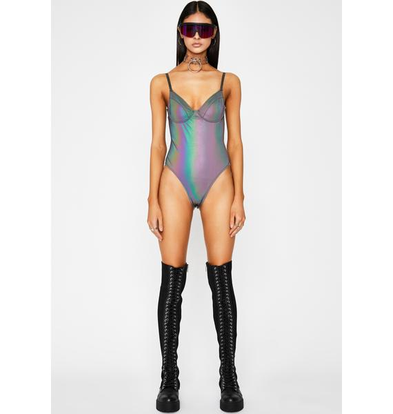 Rave Energy Reflective Bodysuit