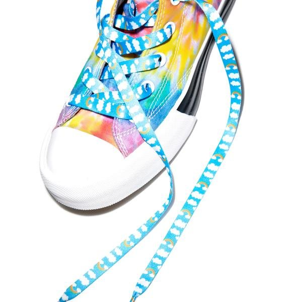 Rainbow Cloudz Shoelaces