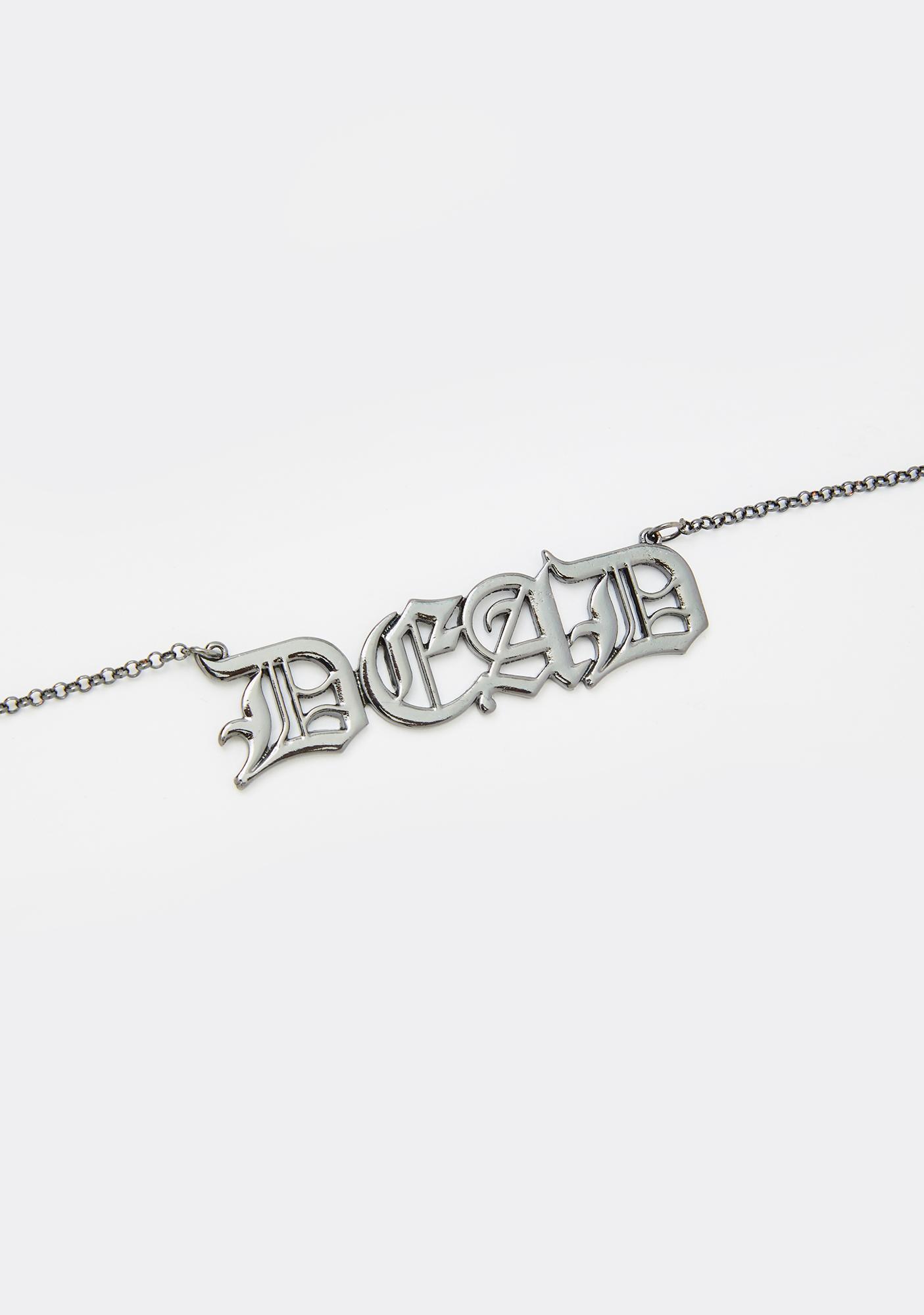Dead Soul Chain Necklace