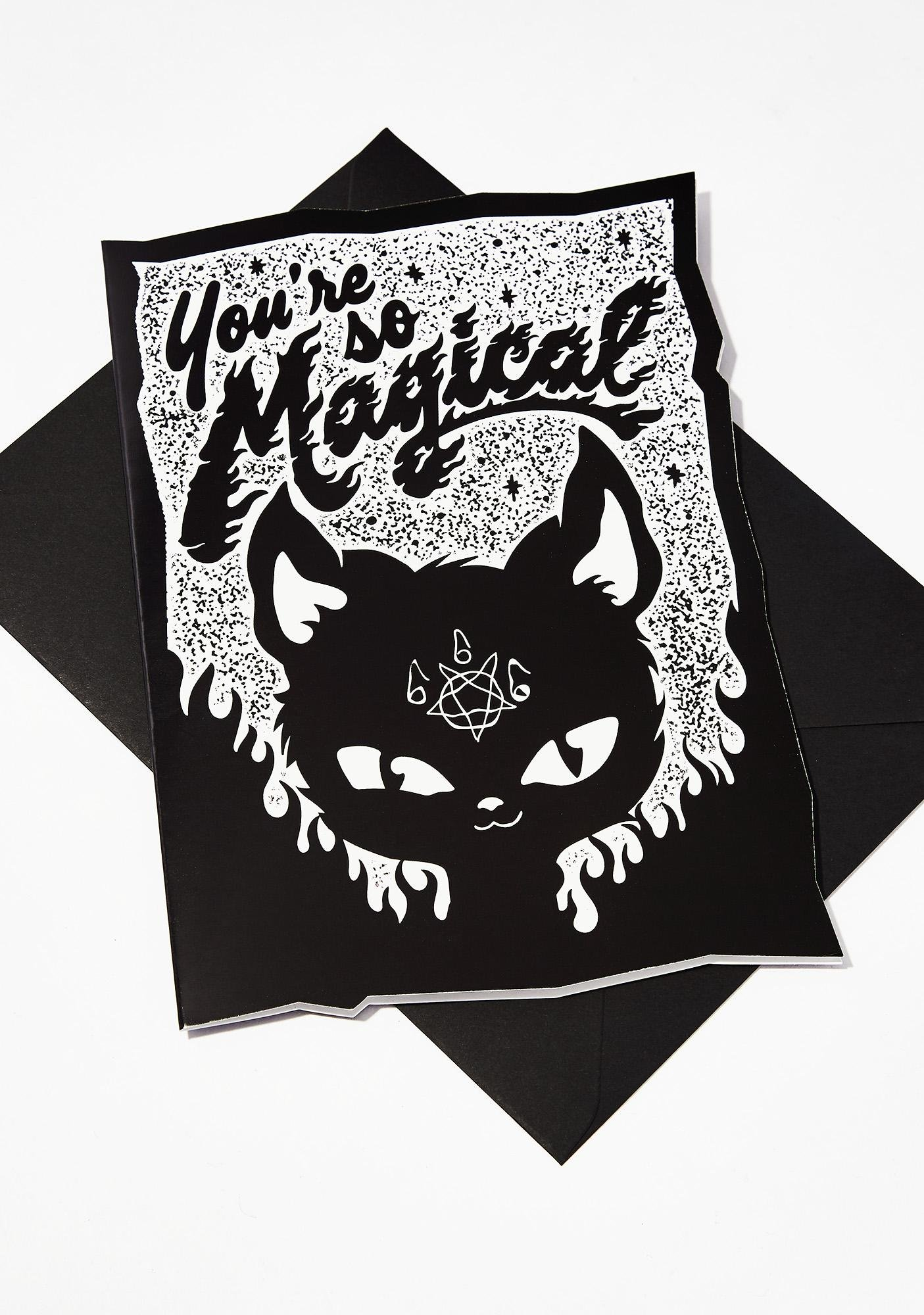 Killstar Magical Birthday Card