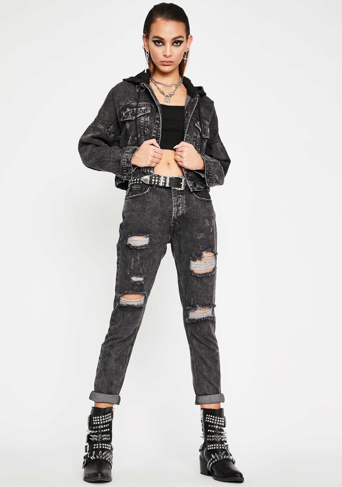 Hardcore Hooligan Denim Jacket