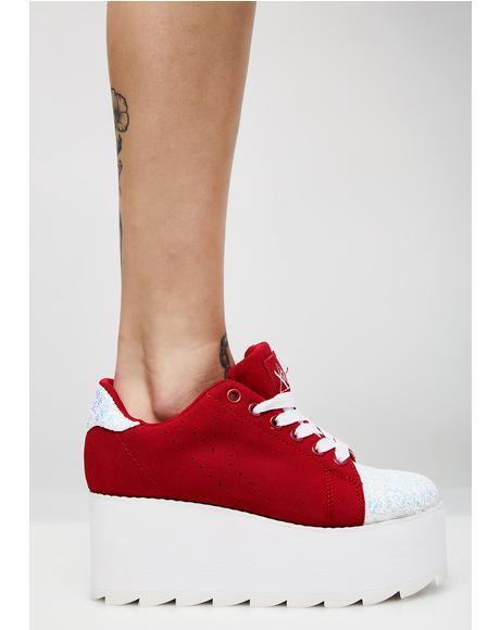 Chasing Cupid Platform Lala Sneakers