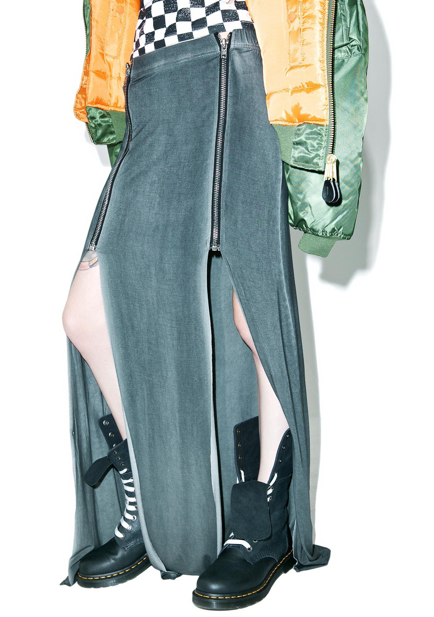 Slacker Zipper Maxi