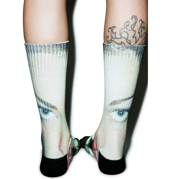 HUF McGrath Eat Me Socks