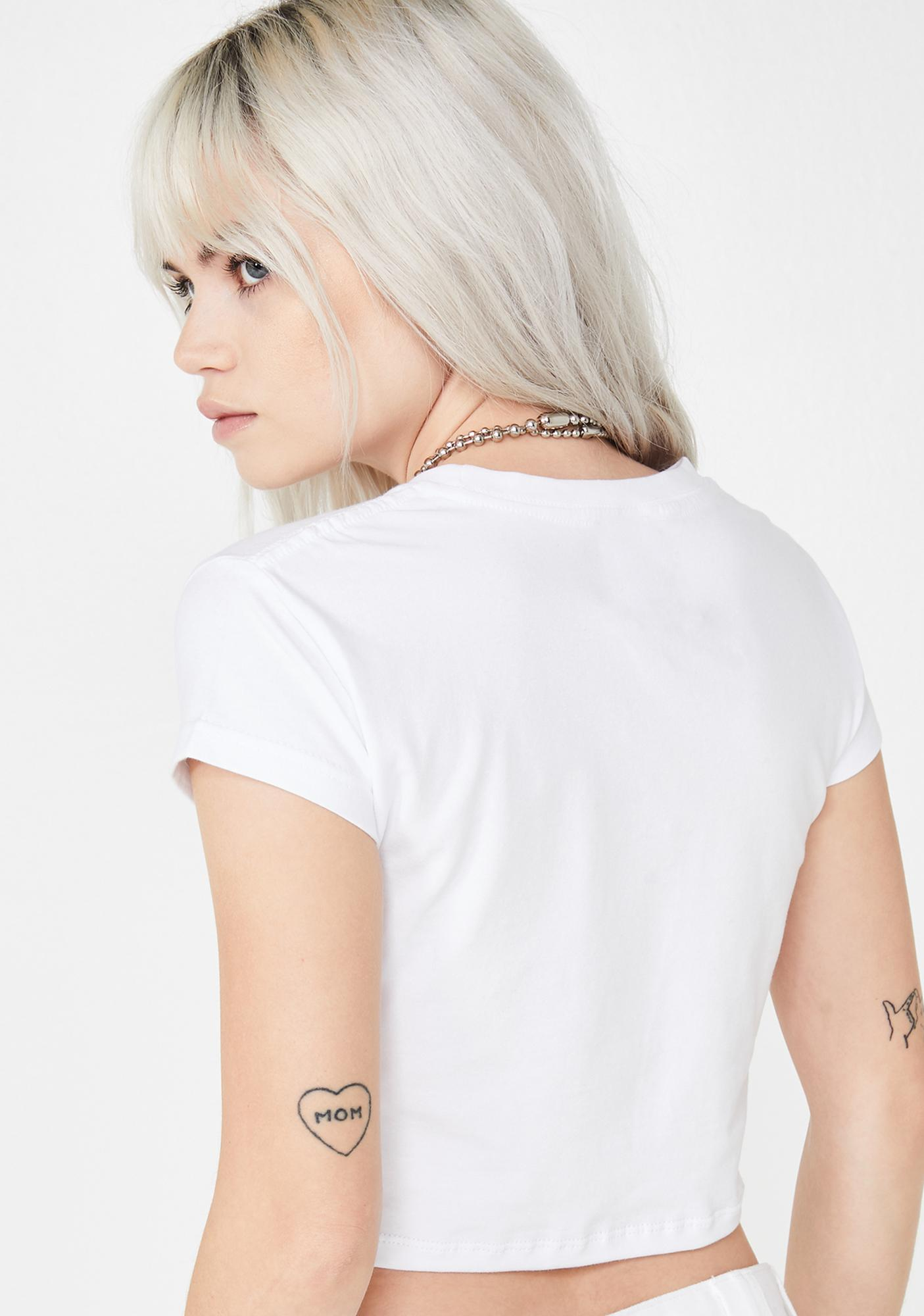Untitled & Co Kill Me Crop Top