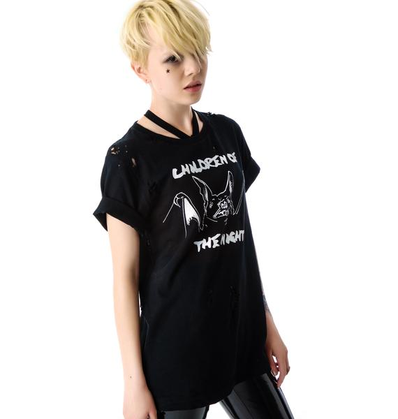 Children Of The Night Destroyed Tee
