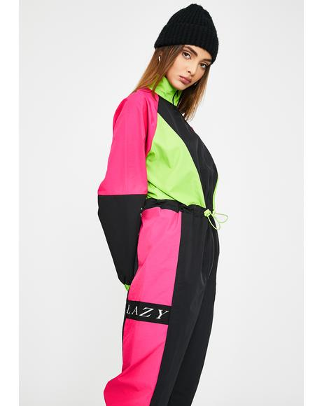Looks Like Skiwear Jumpsuit