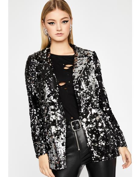 Show Stoppin' Sequin Blazer