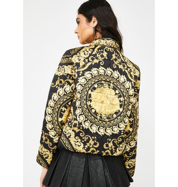 Royal Riches Quilted Jacket