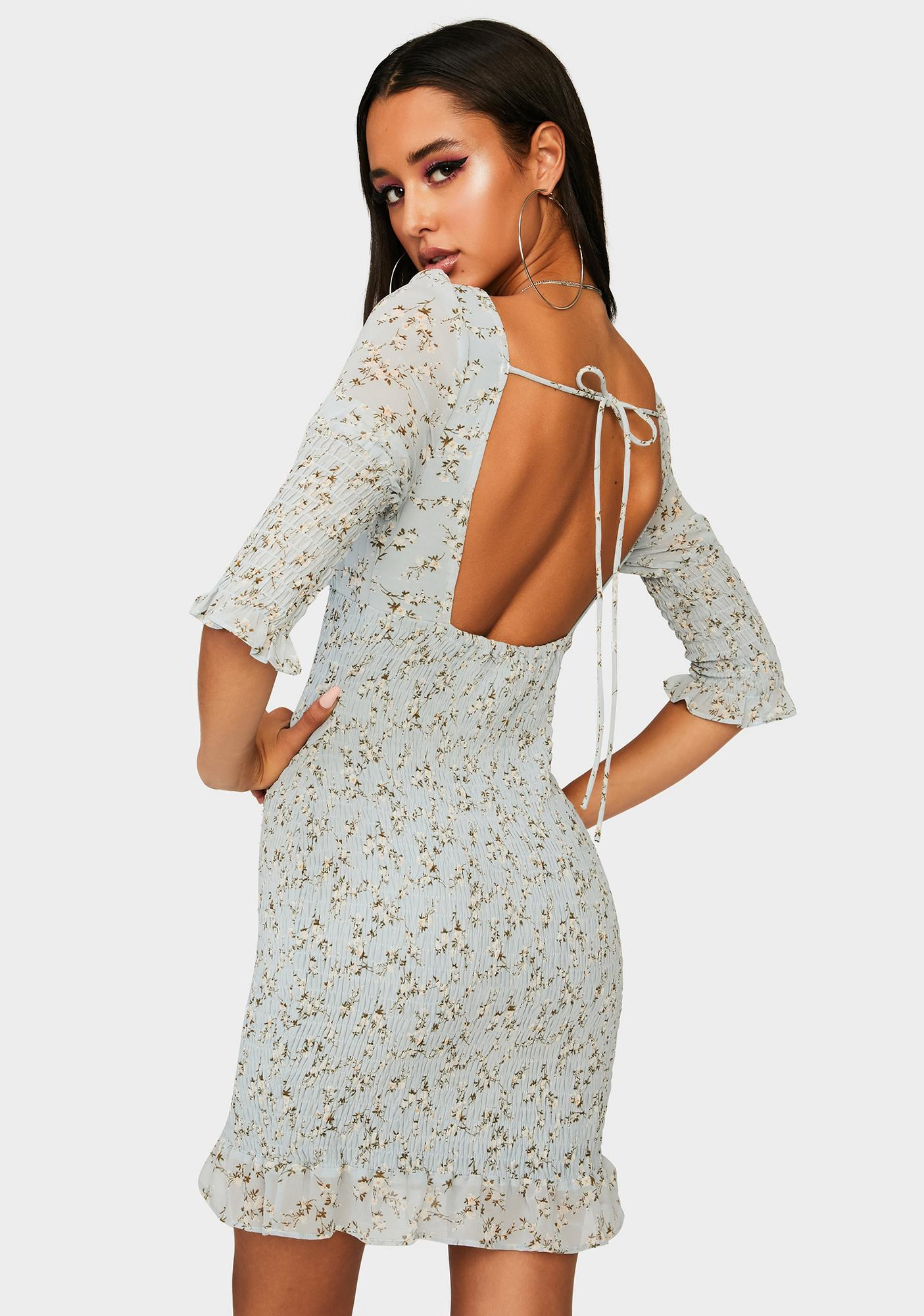 Romantic Affirmations Mini Dress