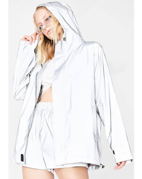 Reflective Jacket N' Shorts Set