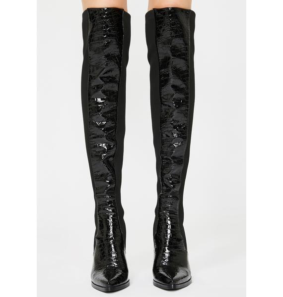 AZALEA WANG Hail Over The Knee Boots