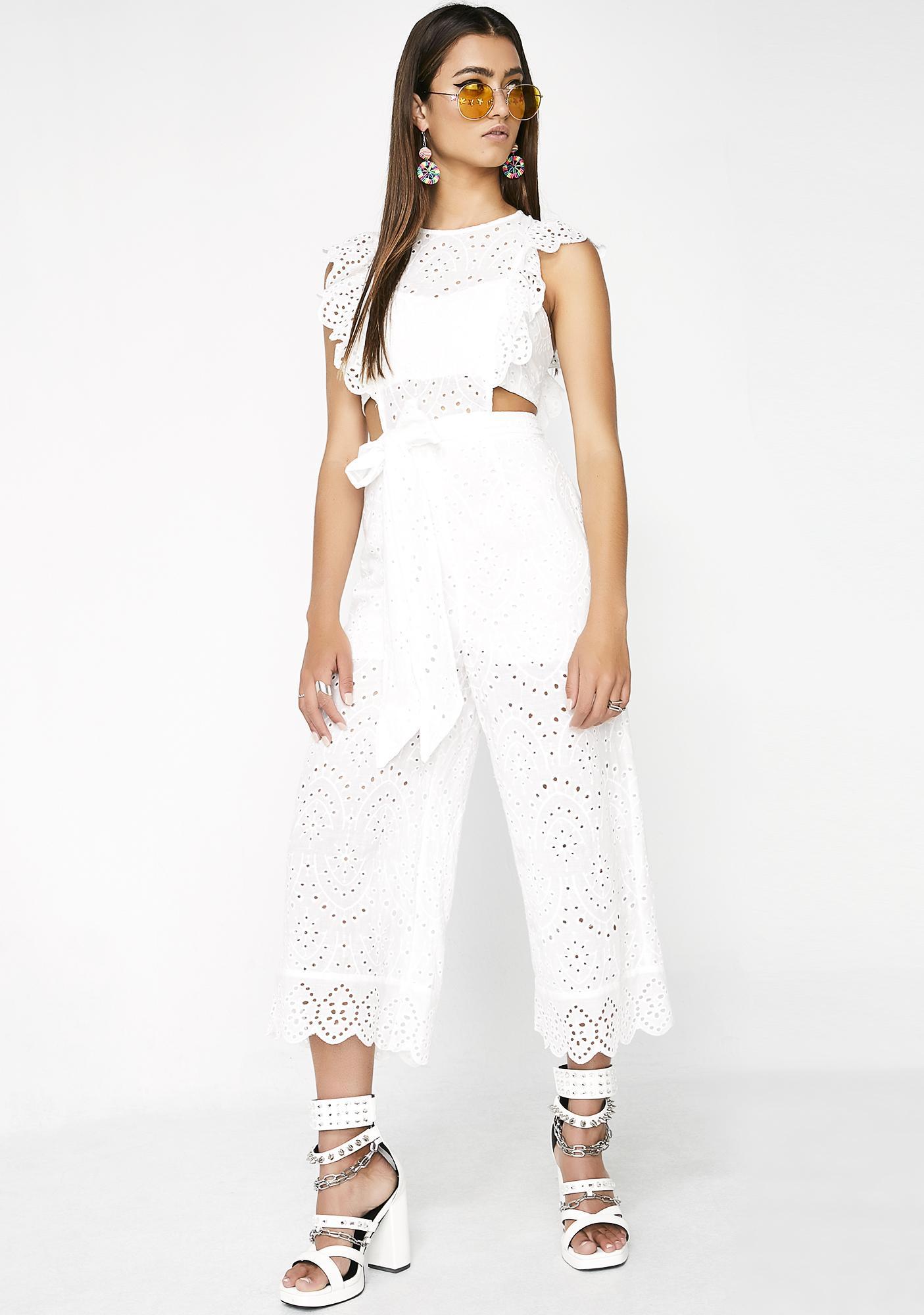 Pure Angel Lace Jumpsuit