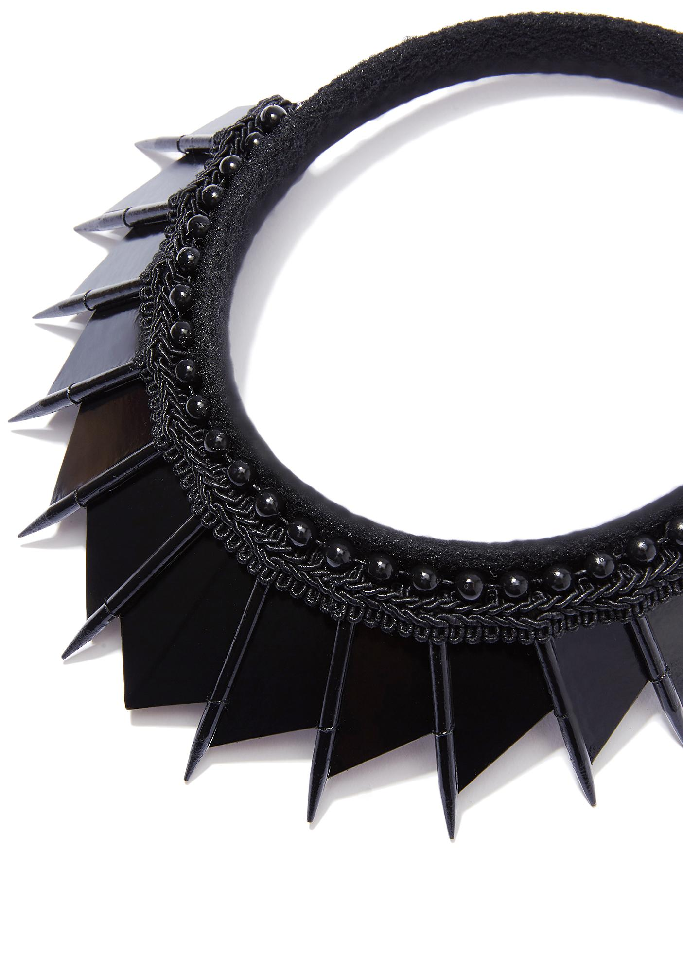 Loschy Designs Black Blade Crown