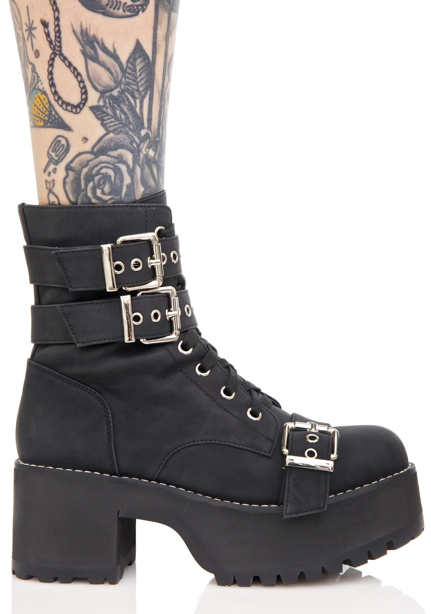 Current Mood Buckle Buddy Boots