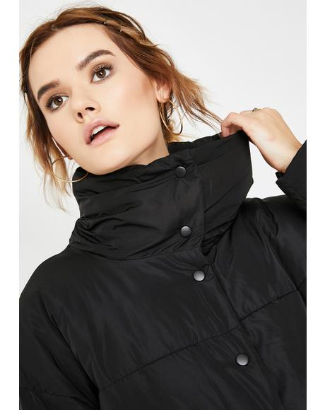 Black Weekend Puffer Jacket