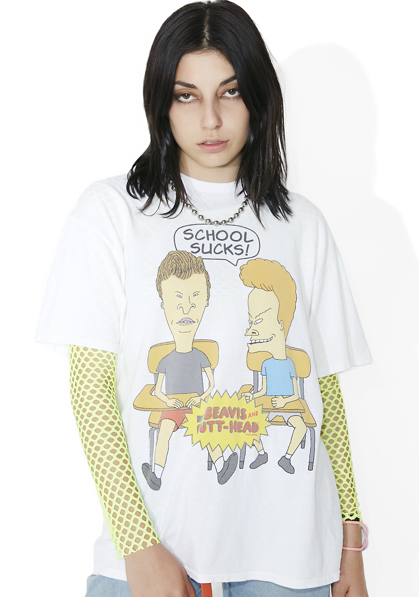Junk Food Clothing School Sucks Tee