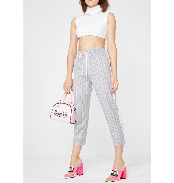 Molly Bracken Plaid Trousers