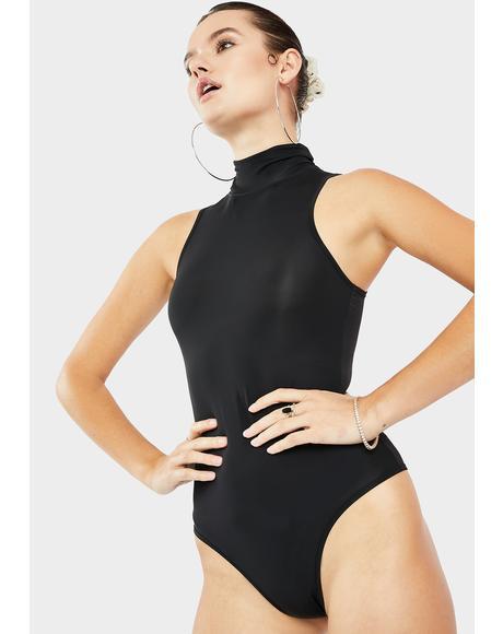 Tae Mock Neck Bodysuit