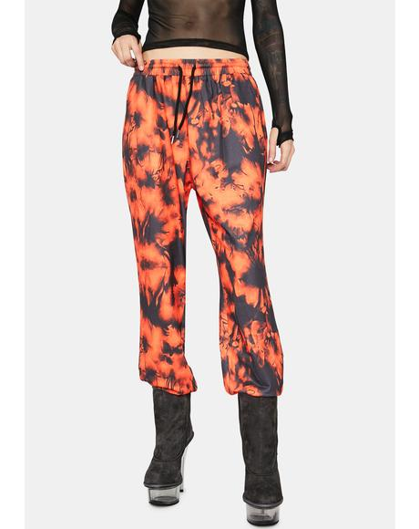 Juicy Mind Tricks Tie Dye Sweatpants