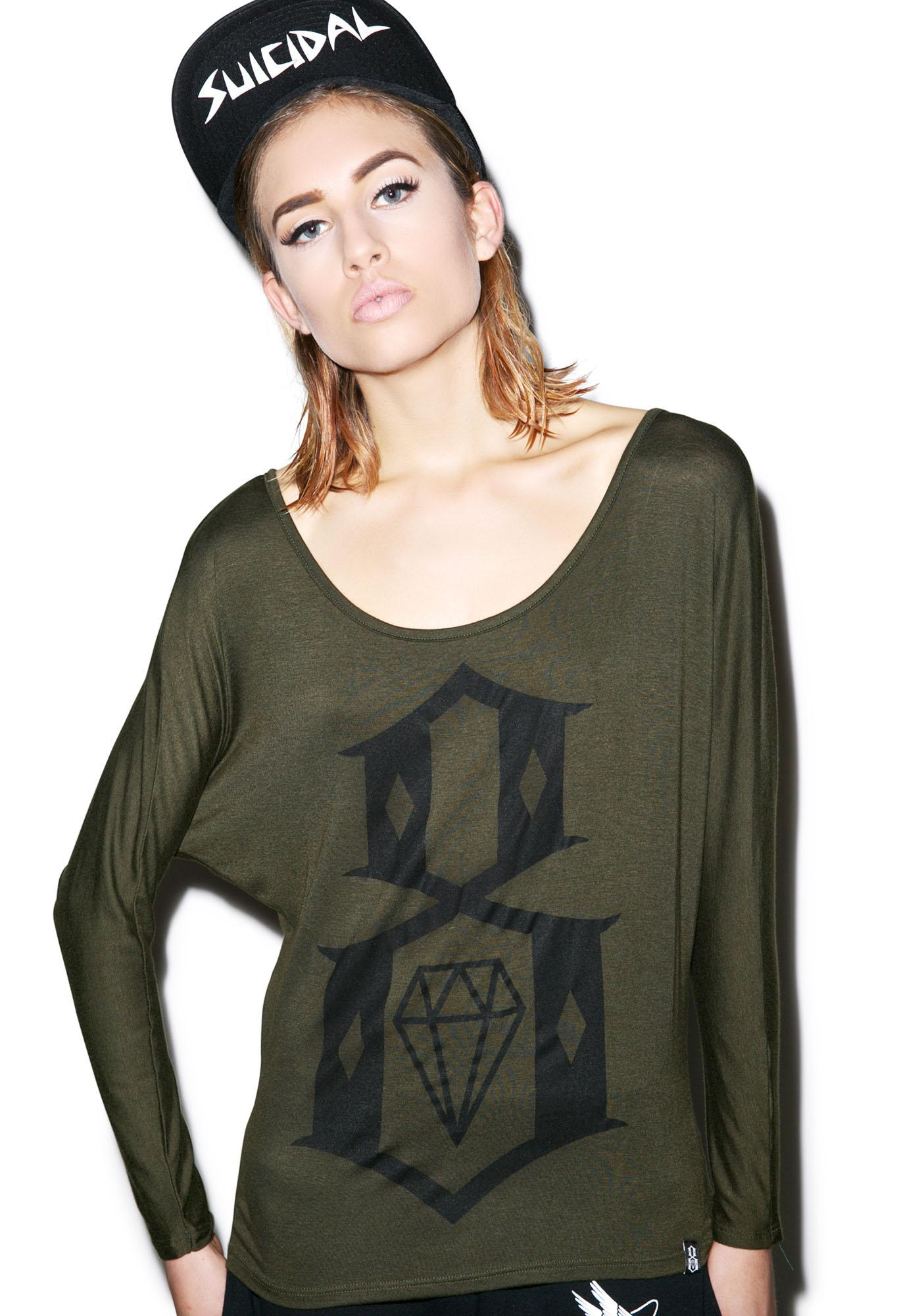 Rebel8 Logo Dolman