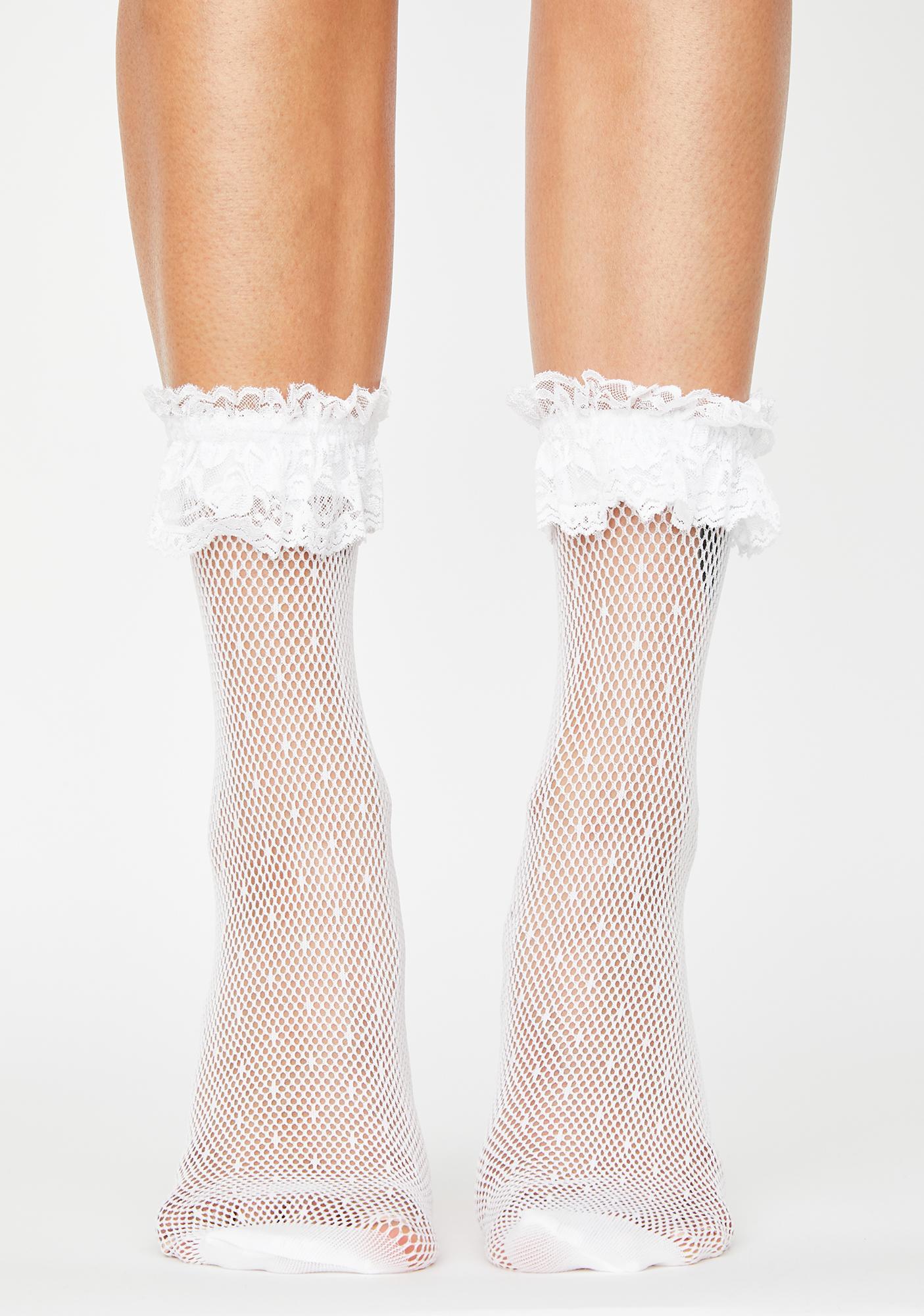 Dainty Delicacies Ruffle Socks
