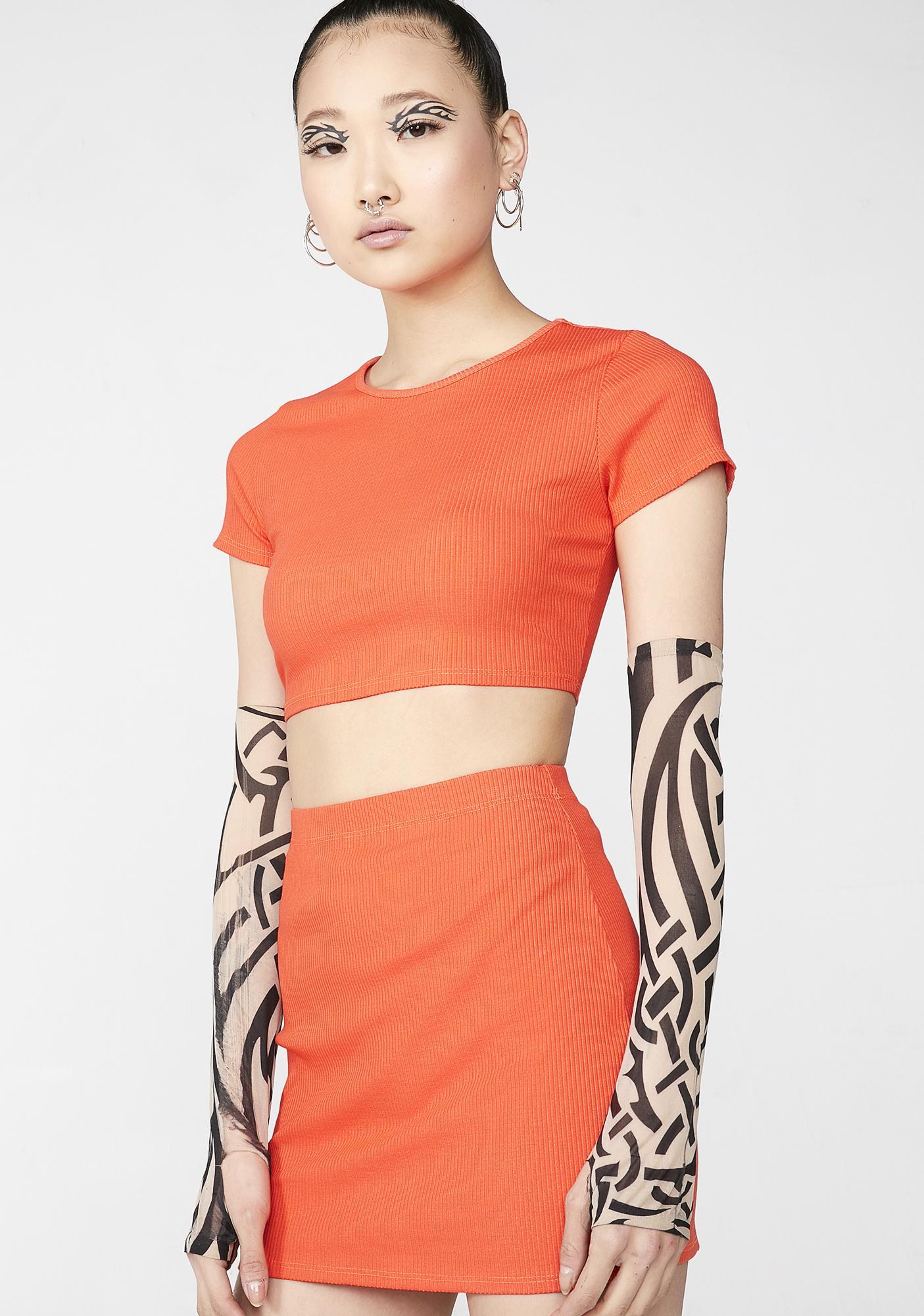 Glow Gang Skirt Set