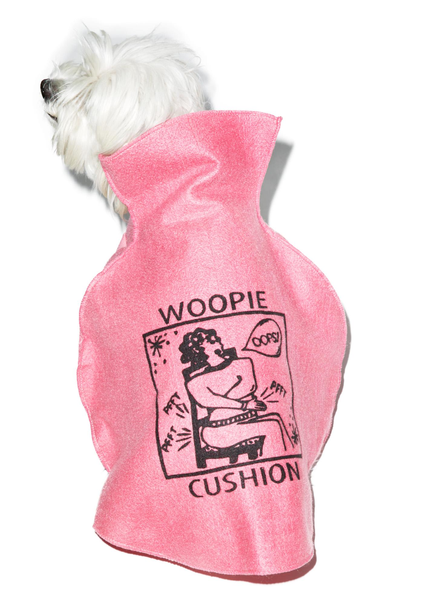 Whoo-Pee Cushion Dog Costume