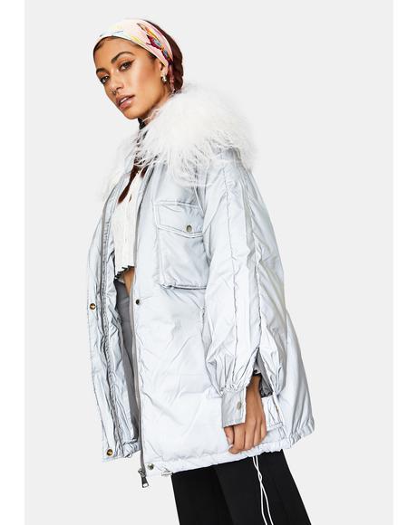 Reflective Metro Puffer Jacket