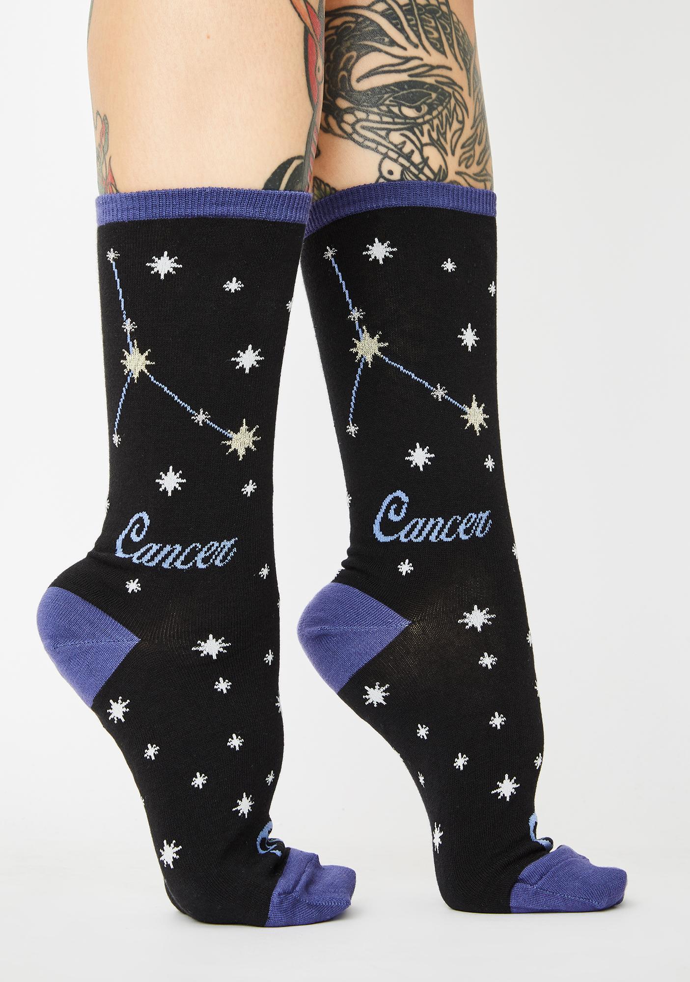 Socksmith Design Cancer Crew Socks