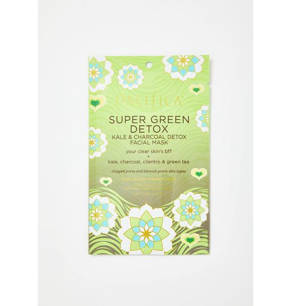 Pacifica Super Green Kale N Charcoal Detox Face Mask