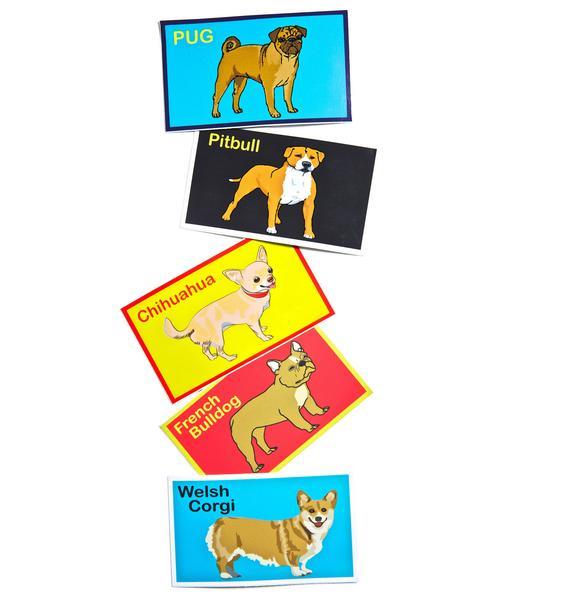 Dog LTD. Welsh Corgi Sticker