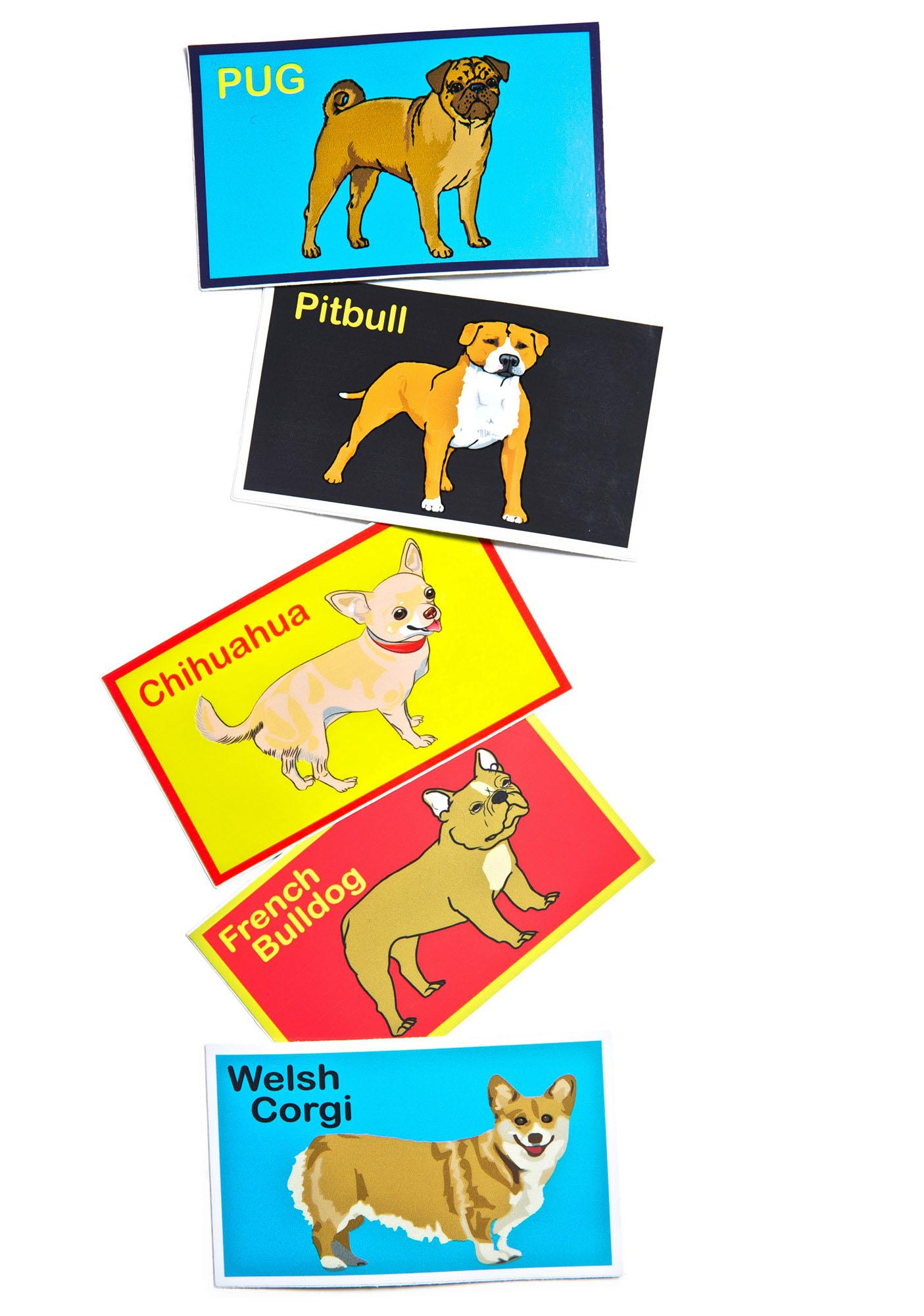 Dog LTD. Welsh Corgi Sticker