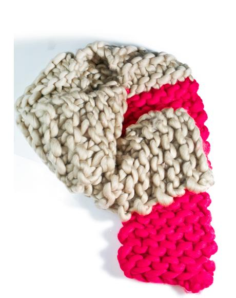 Cuddle Up Chunky Scarf
