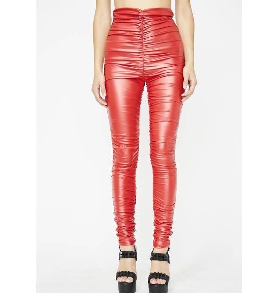Siren All The Vices Ruched Leggings