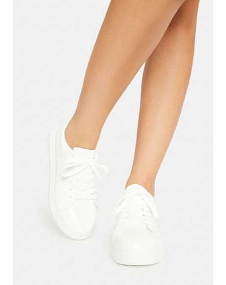 Angel Tourist Trap Patent Sneakers