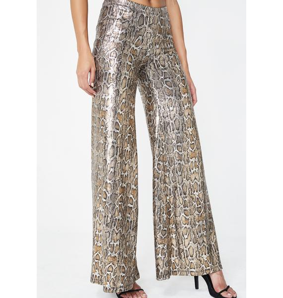 Poster Grl On The List Sequin Pants