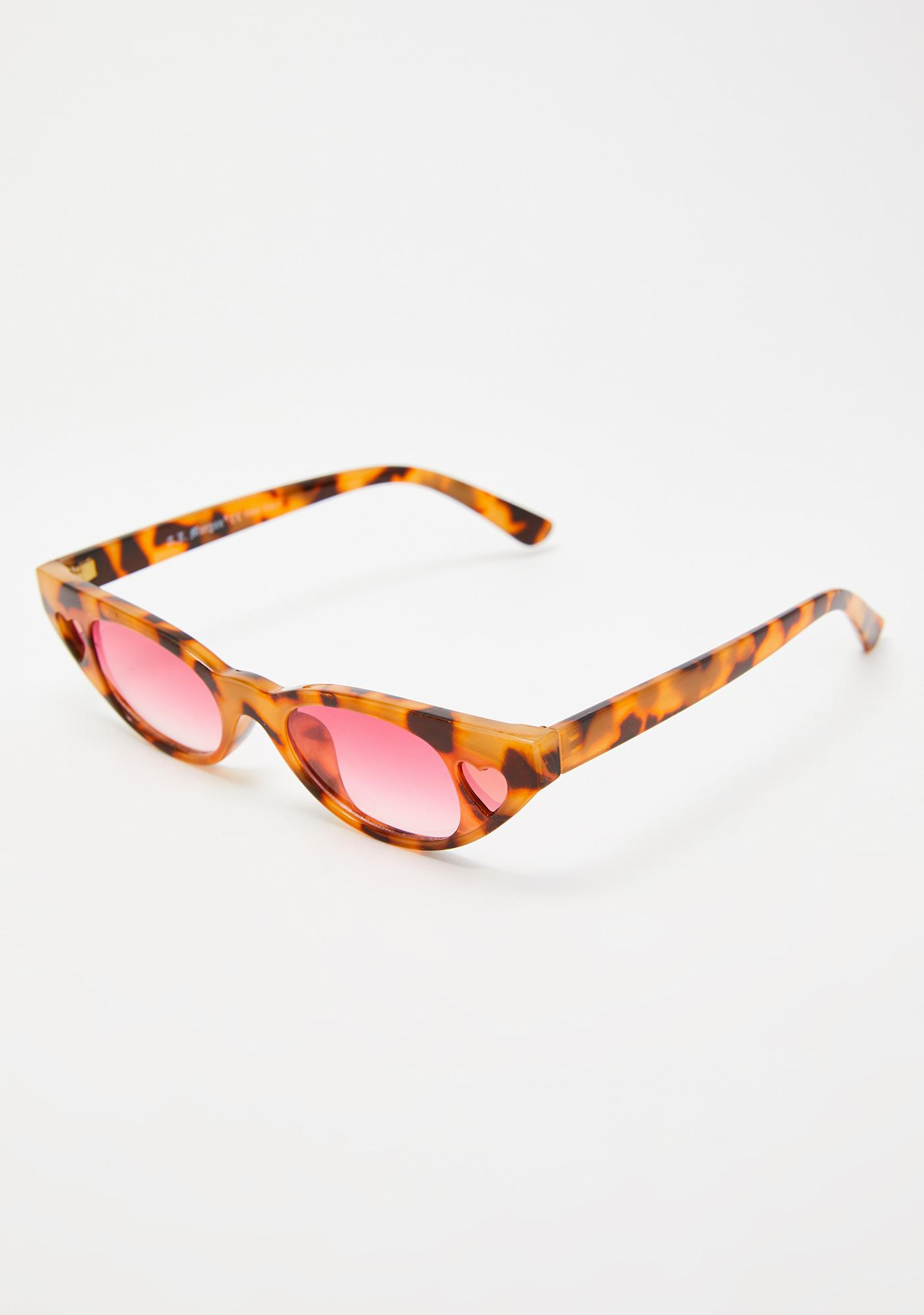 Fierce Love Tease Heart Sunglasses