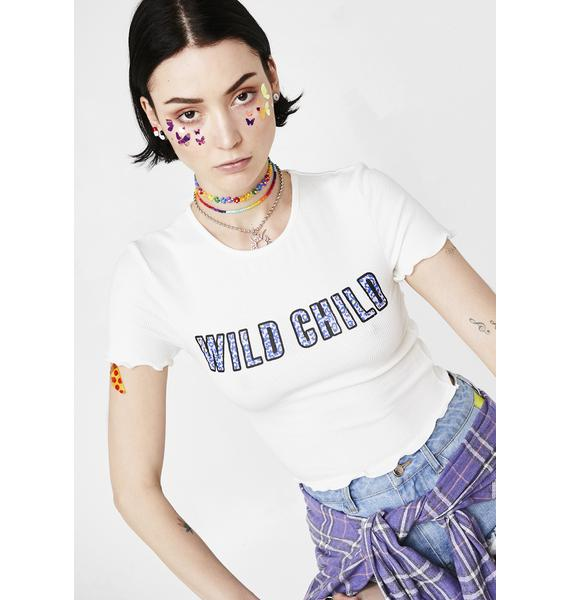 Can't Be Tamed Crop Tee