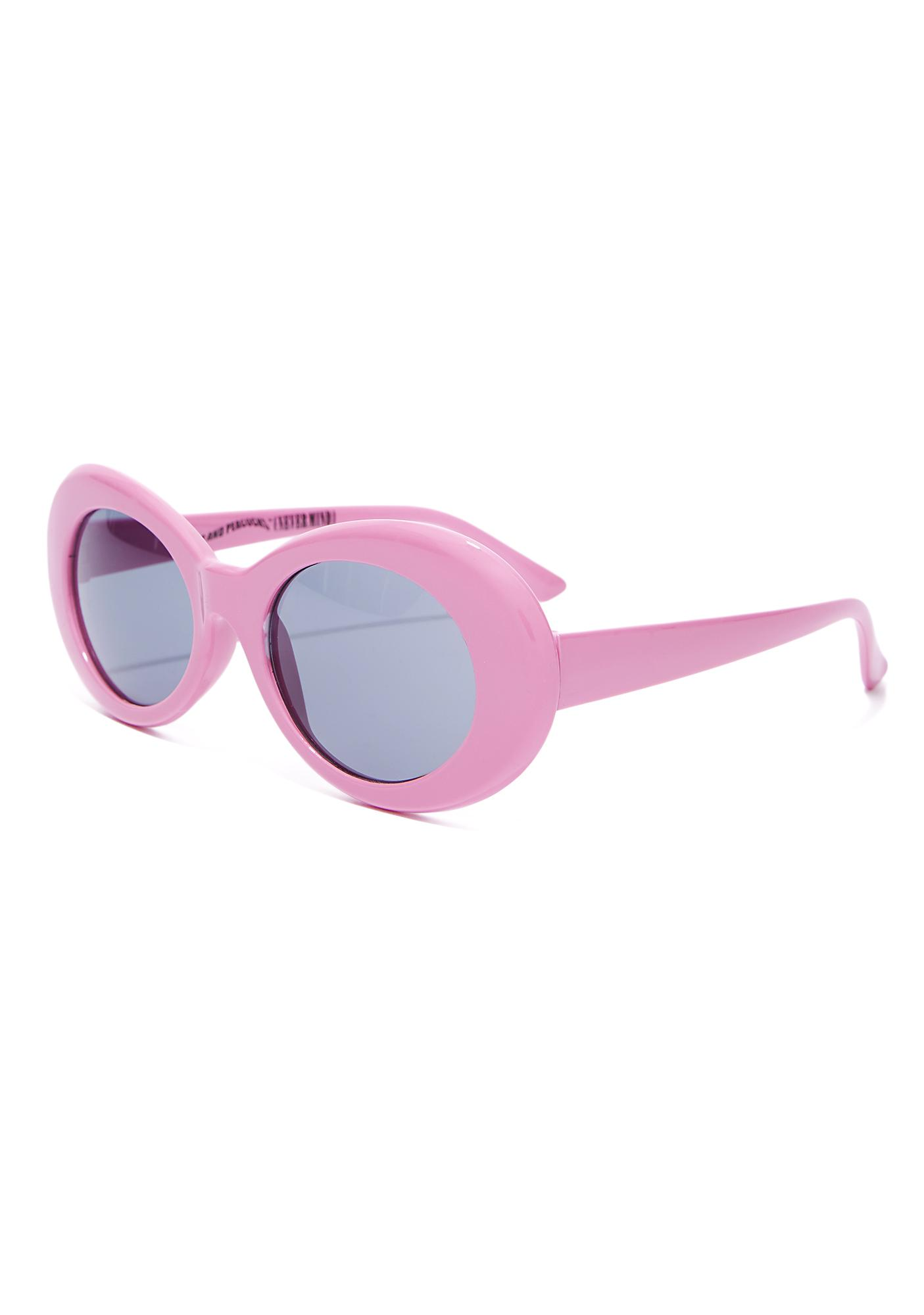 7648d1b7bd ... Petals and Peacocks Bubblegum Nevermind Sunglasses