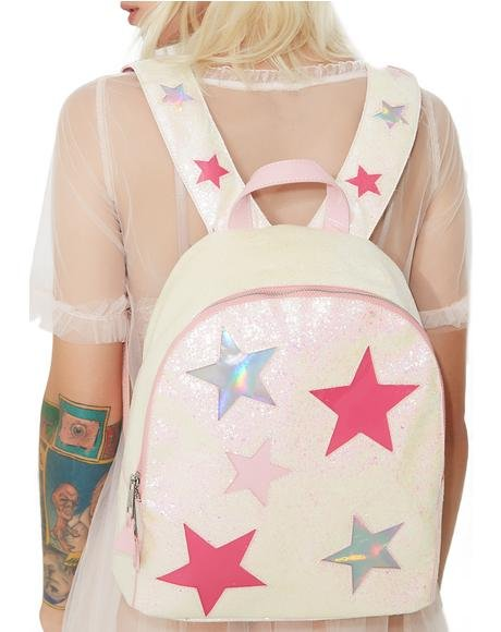 Hologram Glitter Backpack