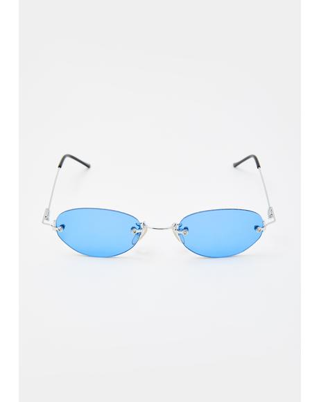 Blue Remi Sunglasses