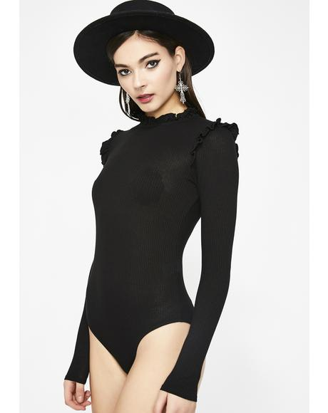 Night School Ribbed Bodysuit
