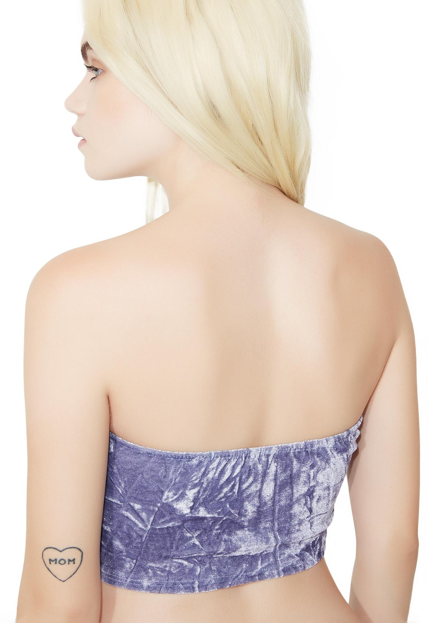 Wild Mountain Honey Velvet Bandeau