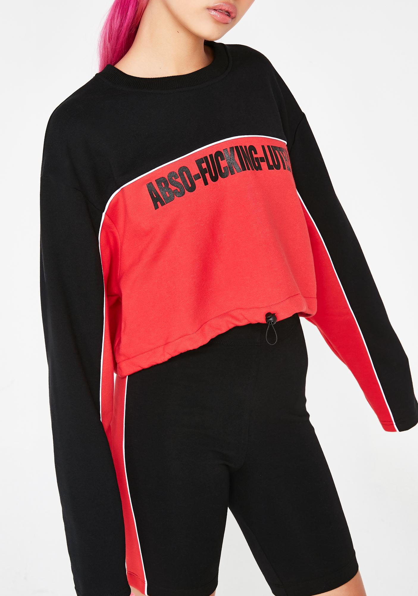Local Heroes Abso-Fucking-Lutely Sweatshirt