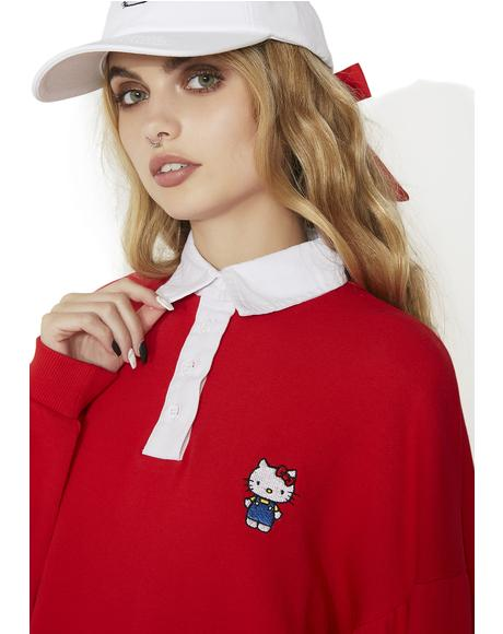 Hello Kitty Rugby Dress
